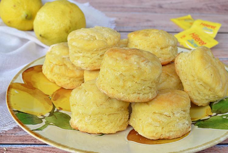 Scons de limón sin azúcar