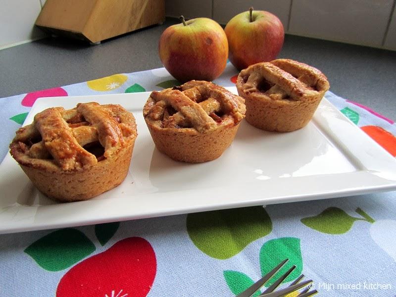 Top Mijn mixed kitchen: Mini appeltaartjes PB54