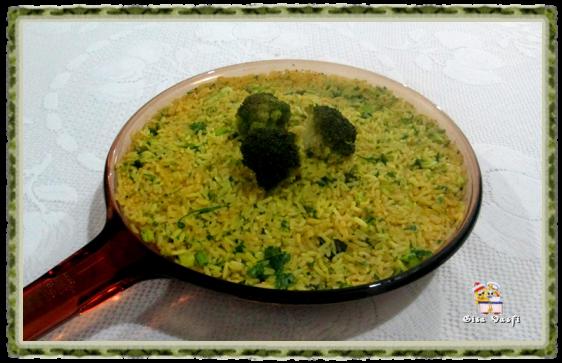 Risoto Alla Milanese de legumes 1