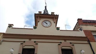Els Hostalets de Pierola. El rellotge