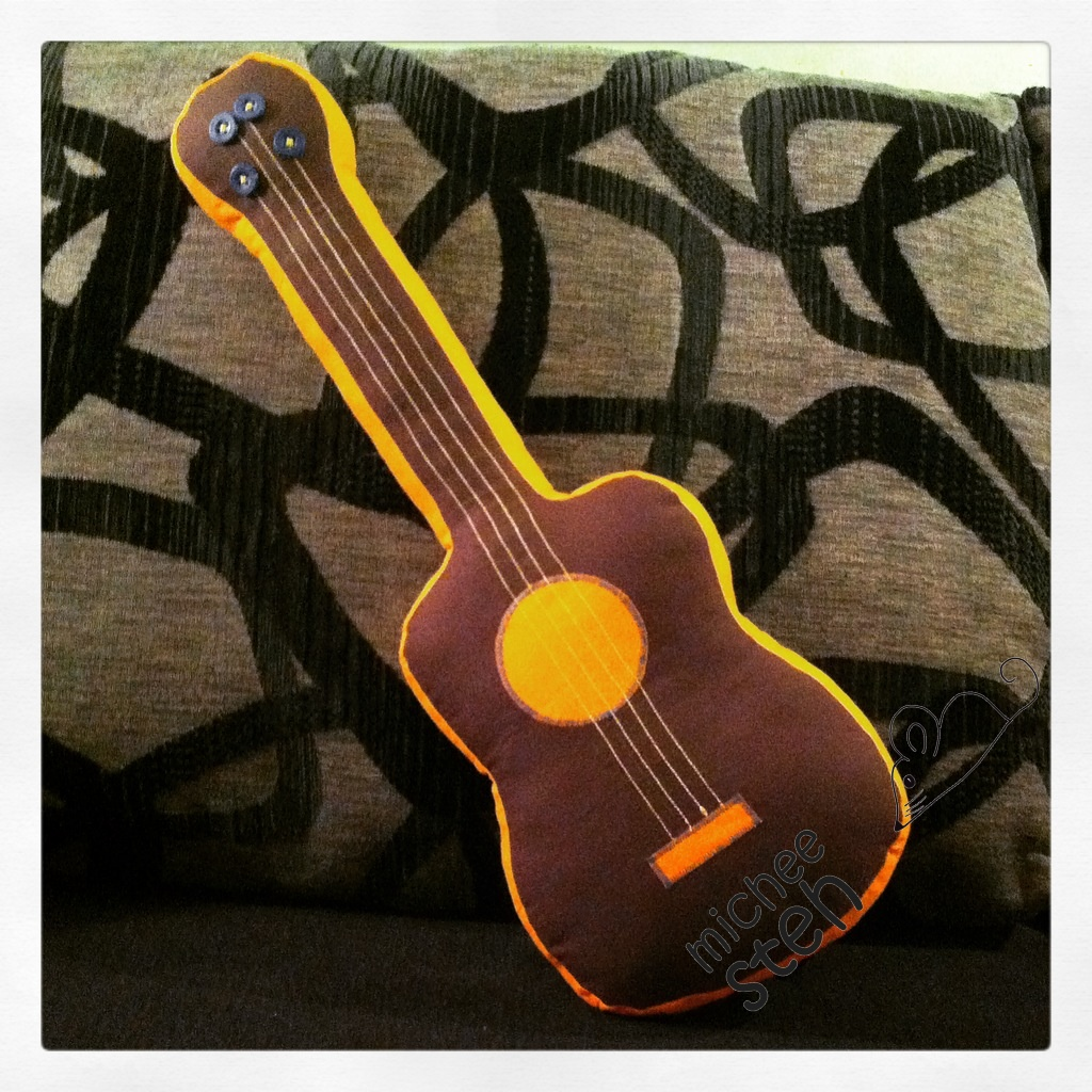 michee steh - šití a tvoření pro radost  Hudební nástroje bfef9c4e29