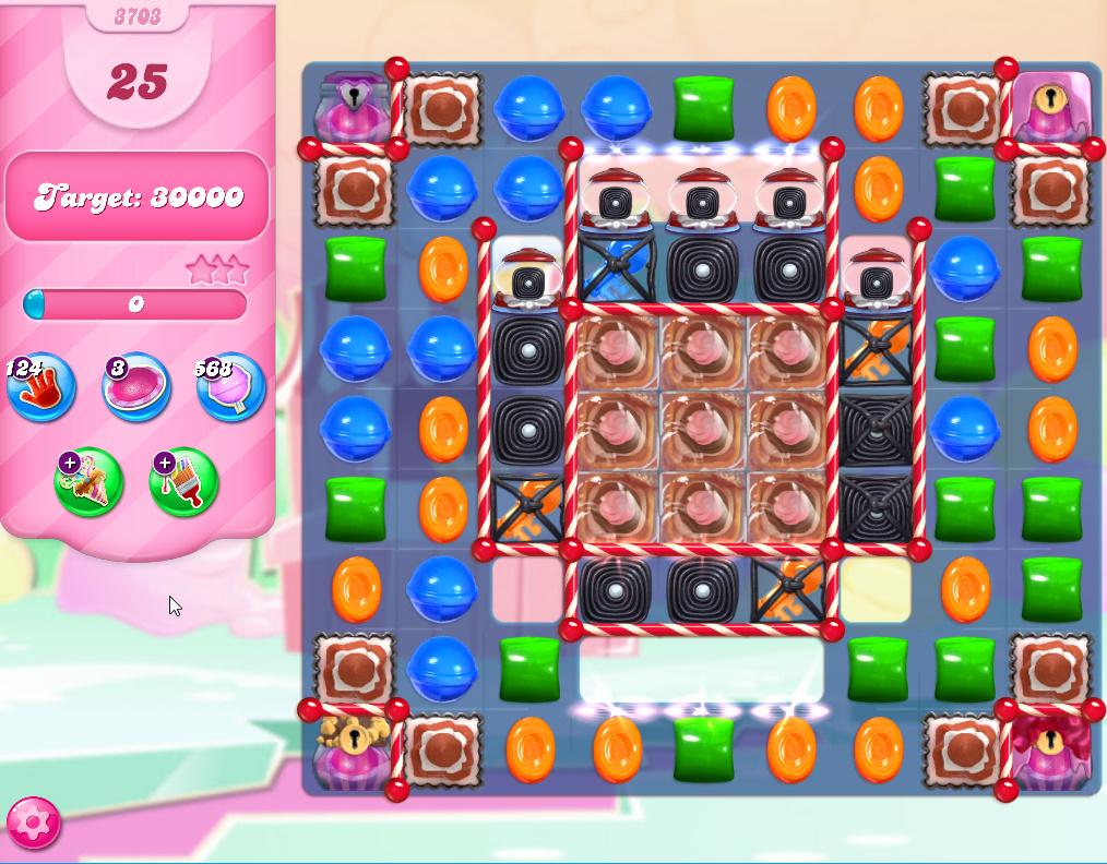 Candy Crush Saga level 3703