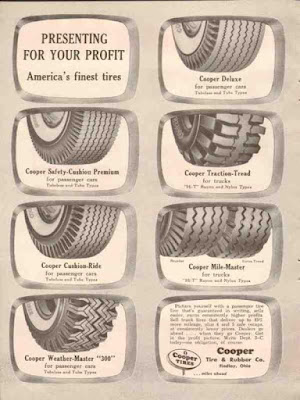 Climbing My Family Tree: Cooper Tire Ad
