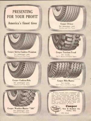 Climbing My Family Tree: Cooper Tire Ad