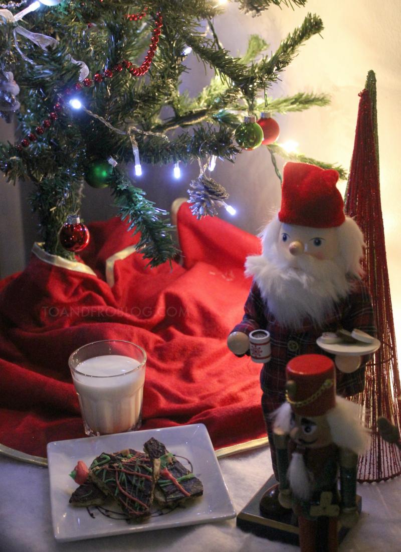 Cookies for Santa Plate DIY