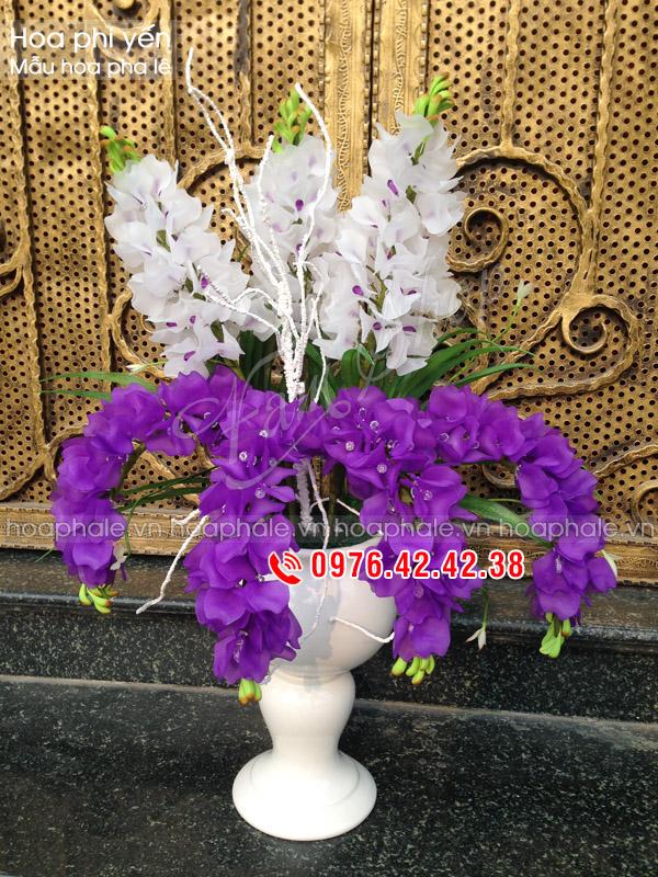 Hoa phi yến - Hoa pha lê