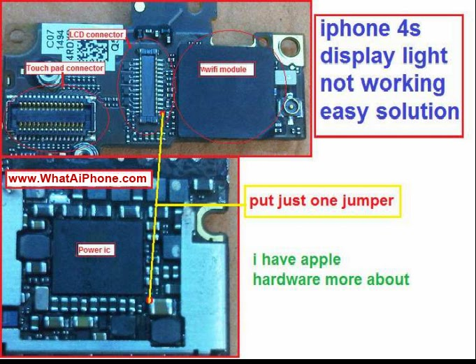 iphone flashlight not working iphone 4s display light not working easy fix problem 15265