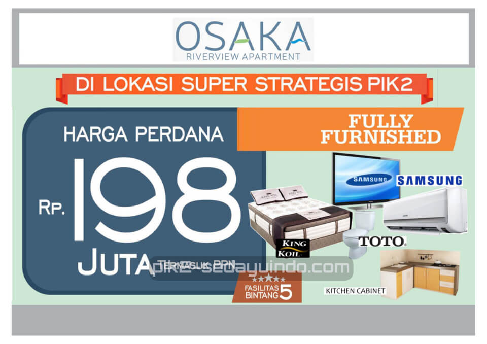 osaka riverview apartemen pik2 jakarta dijual perdana kitchen cabinet kings coupon kitchen cabinet kings customer reviews