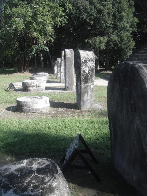Tikal National Park Guatemala Mayan ruins stelae altar