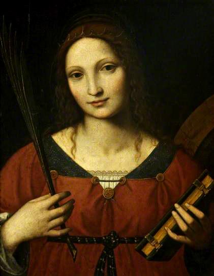 Saint Catherine Bernadino Luini