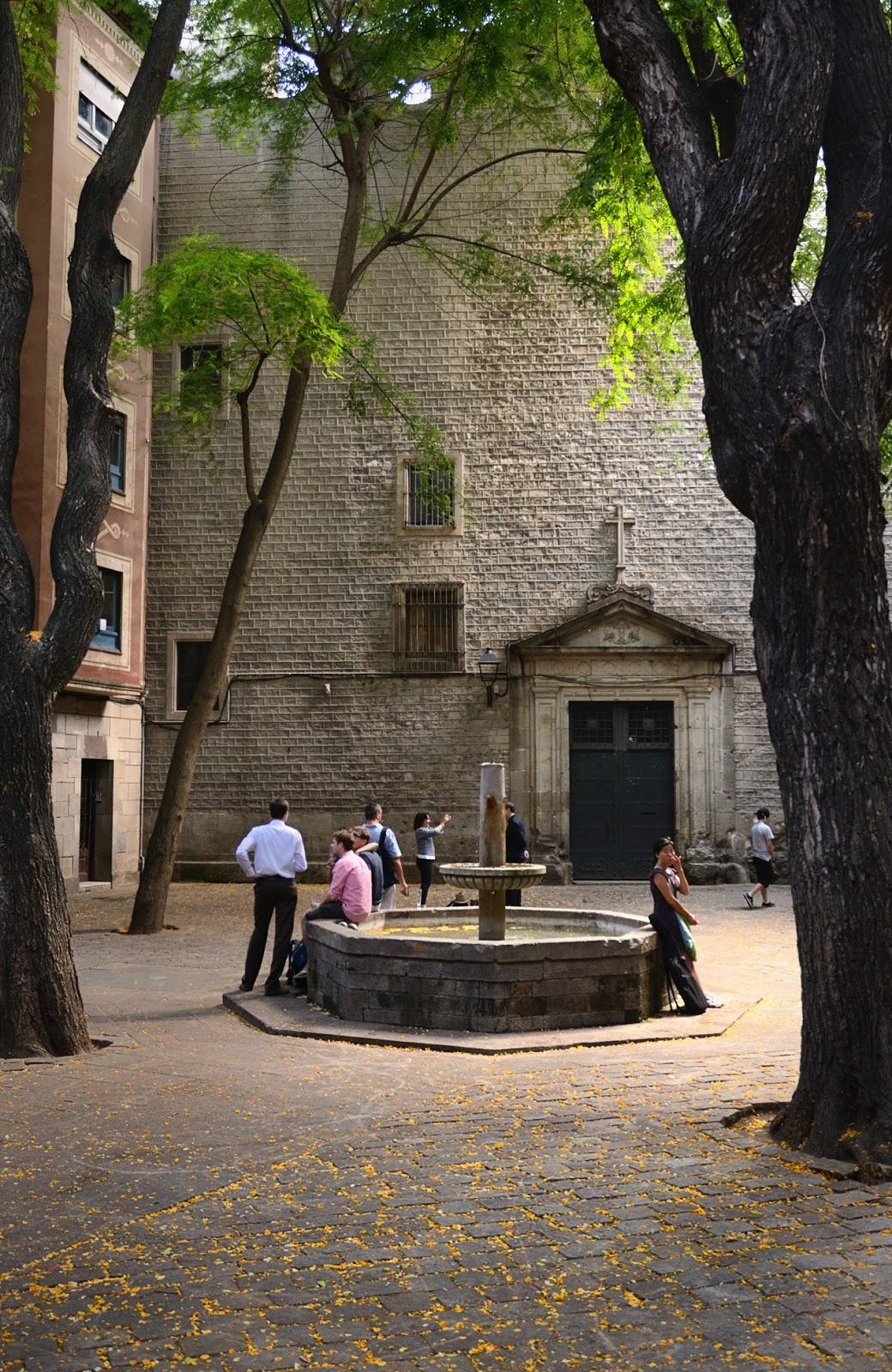 Plaza Sant Felip Neri in Barcelona