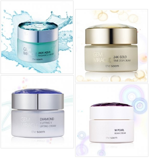 The Saem Gem Miracle creams