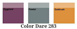 Color Dare #283 Closes Thur Mar 22nd