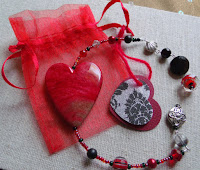 Red Heart Ornaments can be used as a book mark, to hang from car mirror or on a purse, window charm, any knob in the house