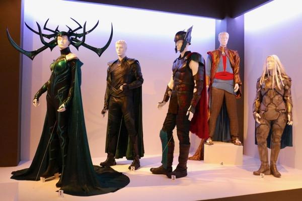 Thor: Ragnarok movie costumes FIDM Museum