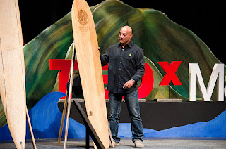 OluKai's Narrative Talk Story Presented Through Archie Kalepa  at TEDxMaui 2013 1