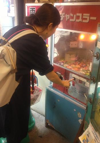 駄菓子屋さんのゲーム機