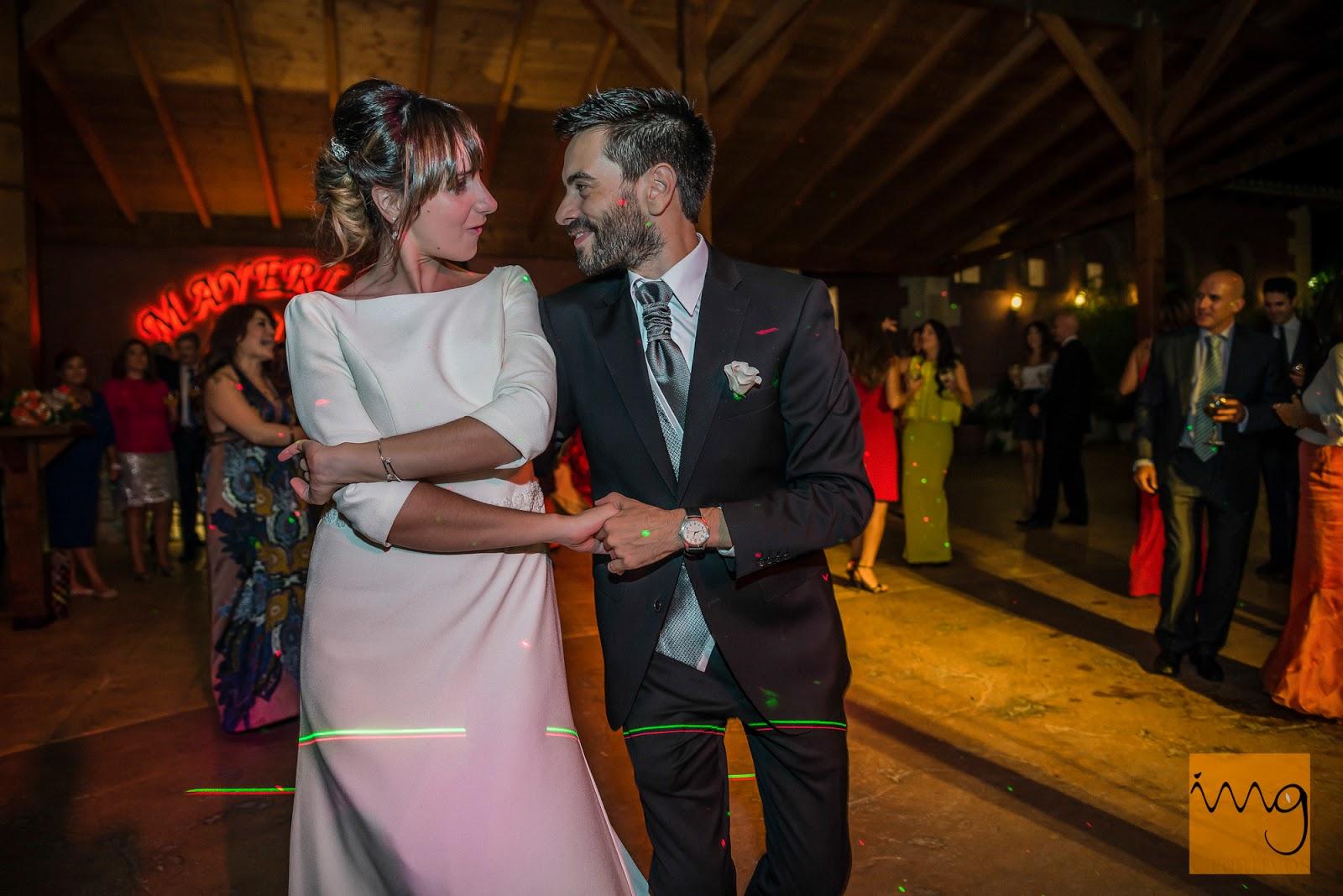 Fotografías de boda durante la fiesta