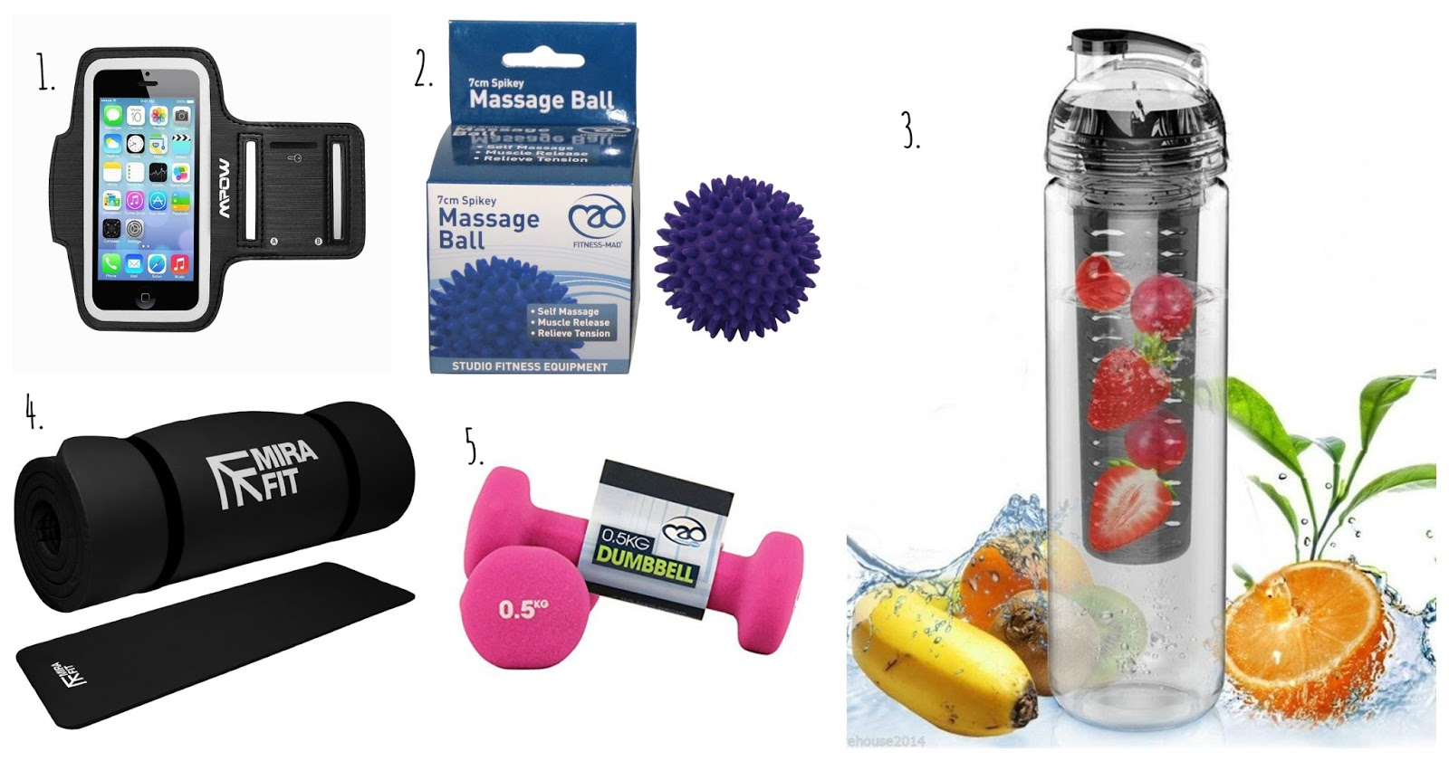 Fitness Gift Guide: UNDER £10