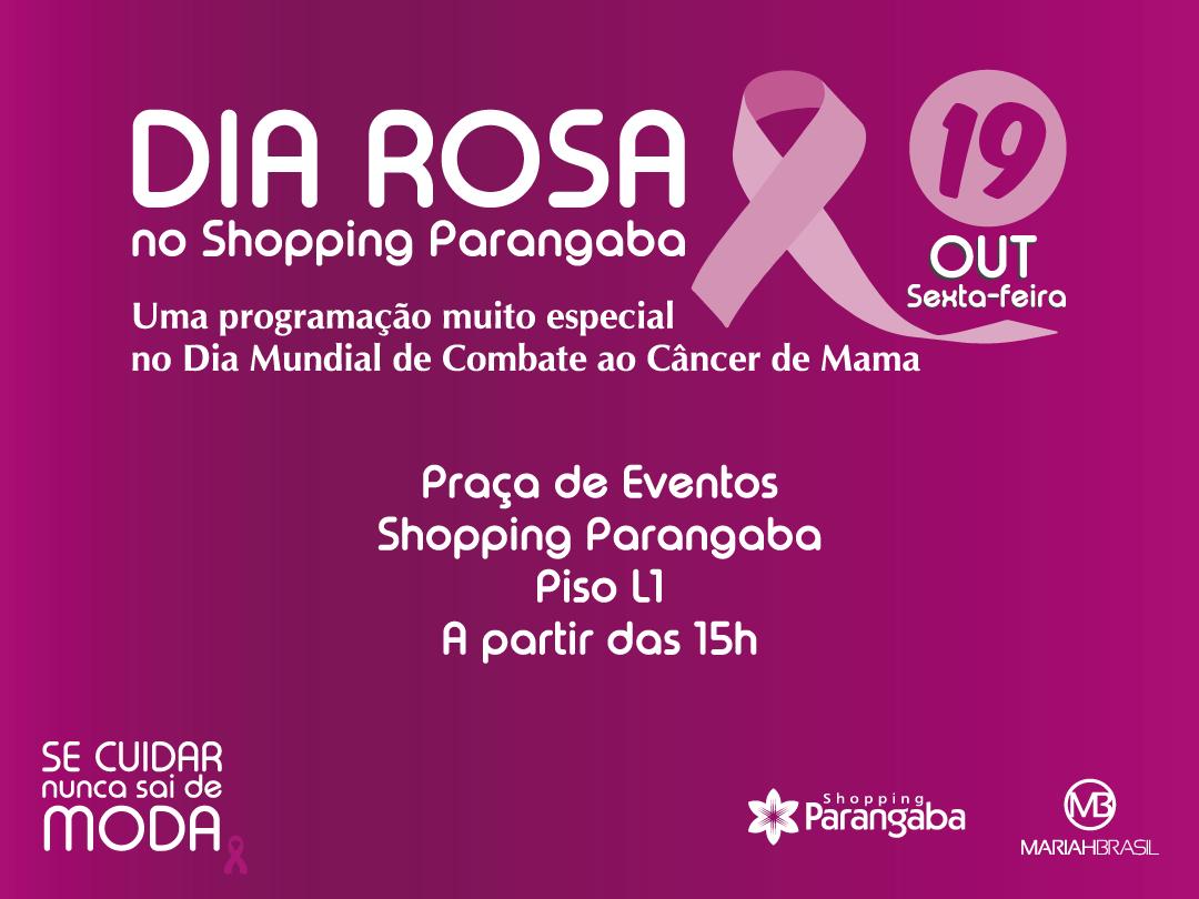 2ccc6c1e781cb Shopping Parangaba promove nesta sexta-feira  Dia Rosa