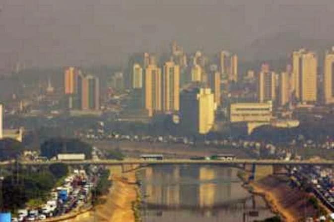 Poluição do Ar Mata mais que Acidentes de Trânsito
