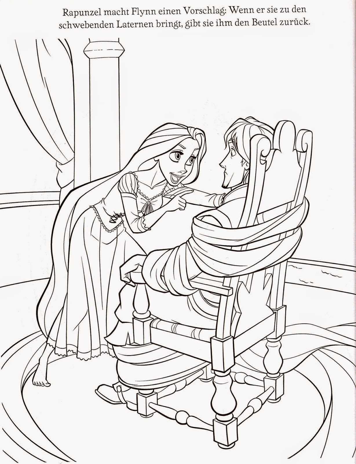Coloring Pages Tangled Free Printable Coloring Pages Of