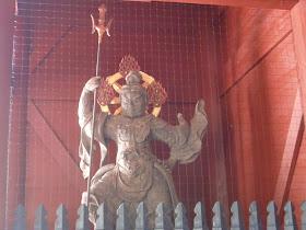 妙本寺二天門