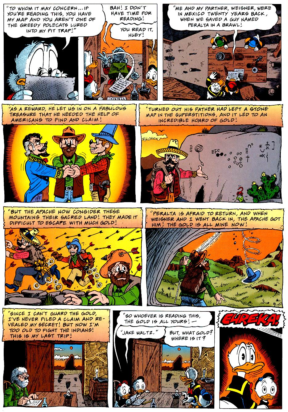 Read online Uncle Scrooge (1953) comic -  Issue #319 - 16