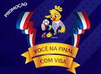Promoção Você na Final do Futebol Feminino com VISA