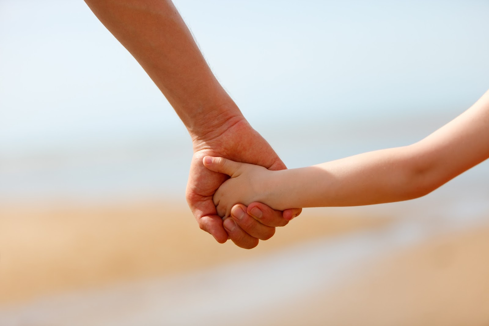 Purposeful Parenting - Parent and Child Holding Hands - Cause and Effect
