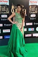 Manjusha in Beautiful Sleeveless Green Anarkali dress at IIFA Utsavam Awards 006.JPG