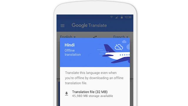 Il download dei pacchetti necessari per effettuare le traduzioni in modalità offline