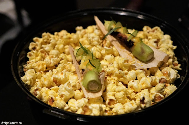 Popcorn at NEXT in Chicago