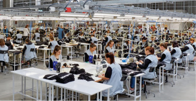 production line garment factory