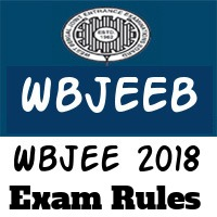 Wbjee 2018 Exam Rules