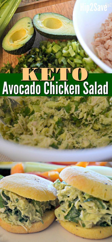 Keto Friendly Avocado Chicken Salad
