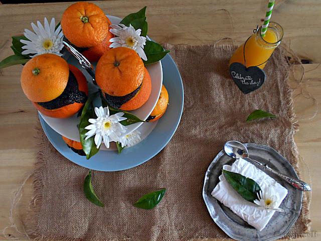 bolo chocolate e laranja