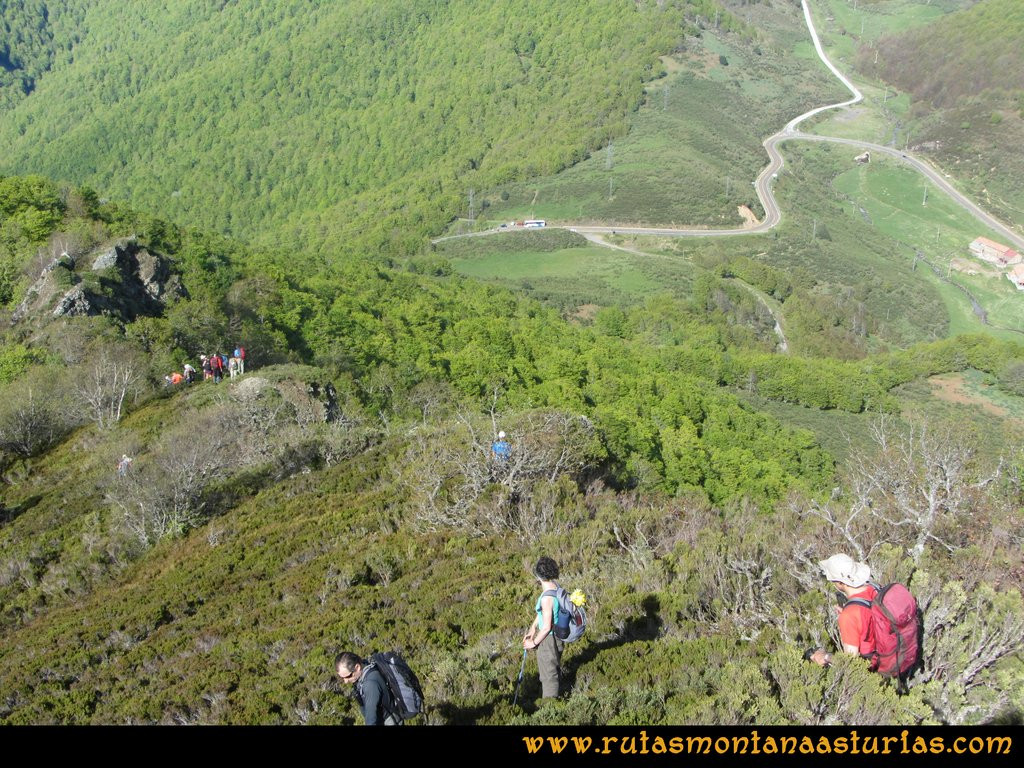 Transcantábrica Tarna-Ponga: Vista del Pontón