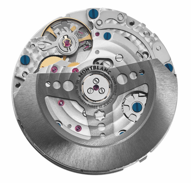 Montblanc Manufacture chronograph calibre MB 25.10