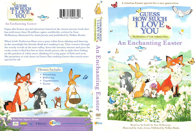 Guess How Much I Love You An Enchanting Easter DVD Cover