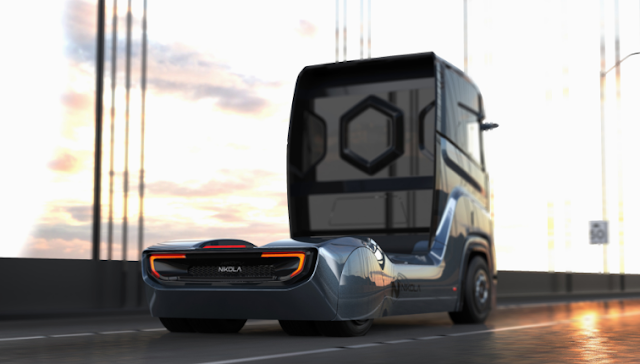 Latest trucks from nilka, hydrogen truck