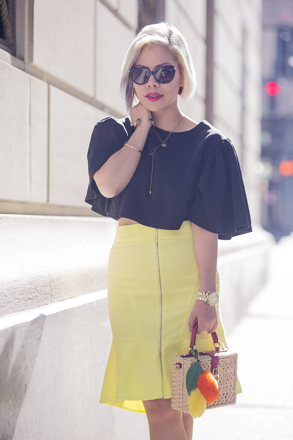 New York Fashion Week 2015- NYFW Street style blogger- Crystal Phuong
