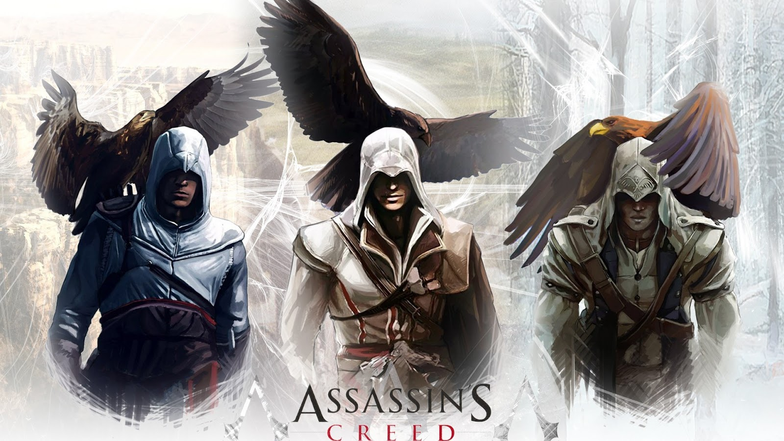 Assassins Creed Art Hd Wallpaper Covers Heat