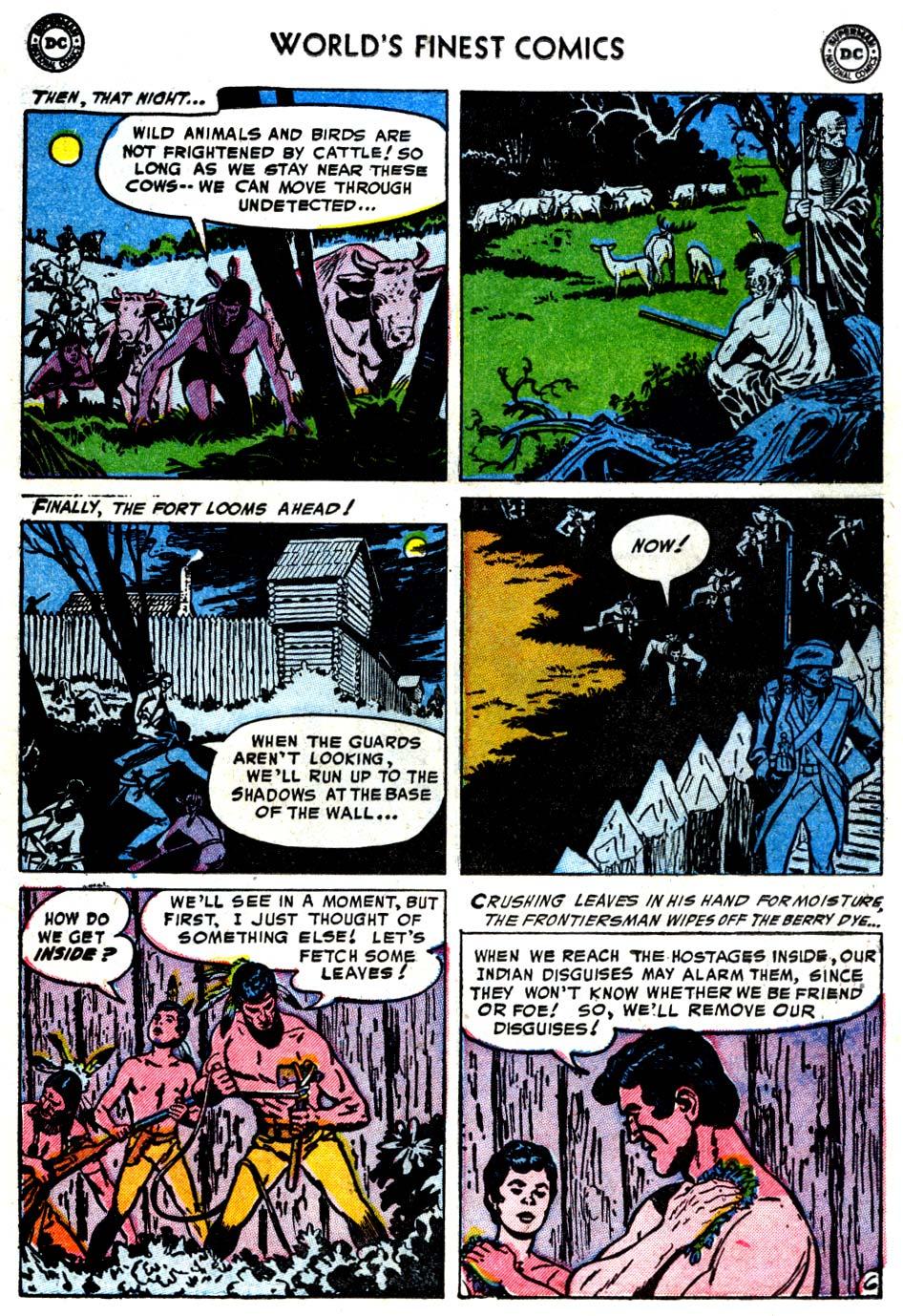 Read online World's Finest Comics comic -  Issue #68 - 21