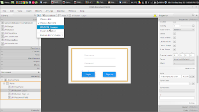 JavaFX Material Design : Setting Up and Making Login Application