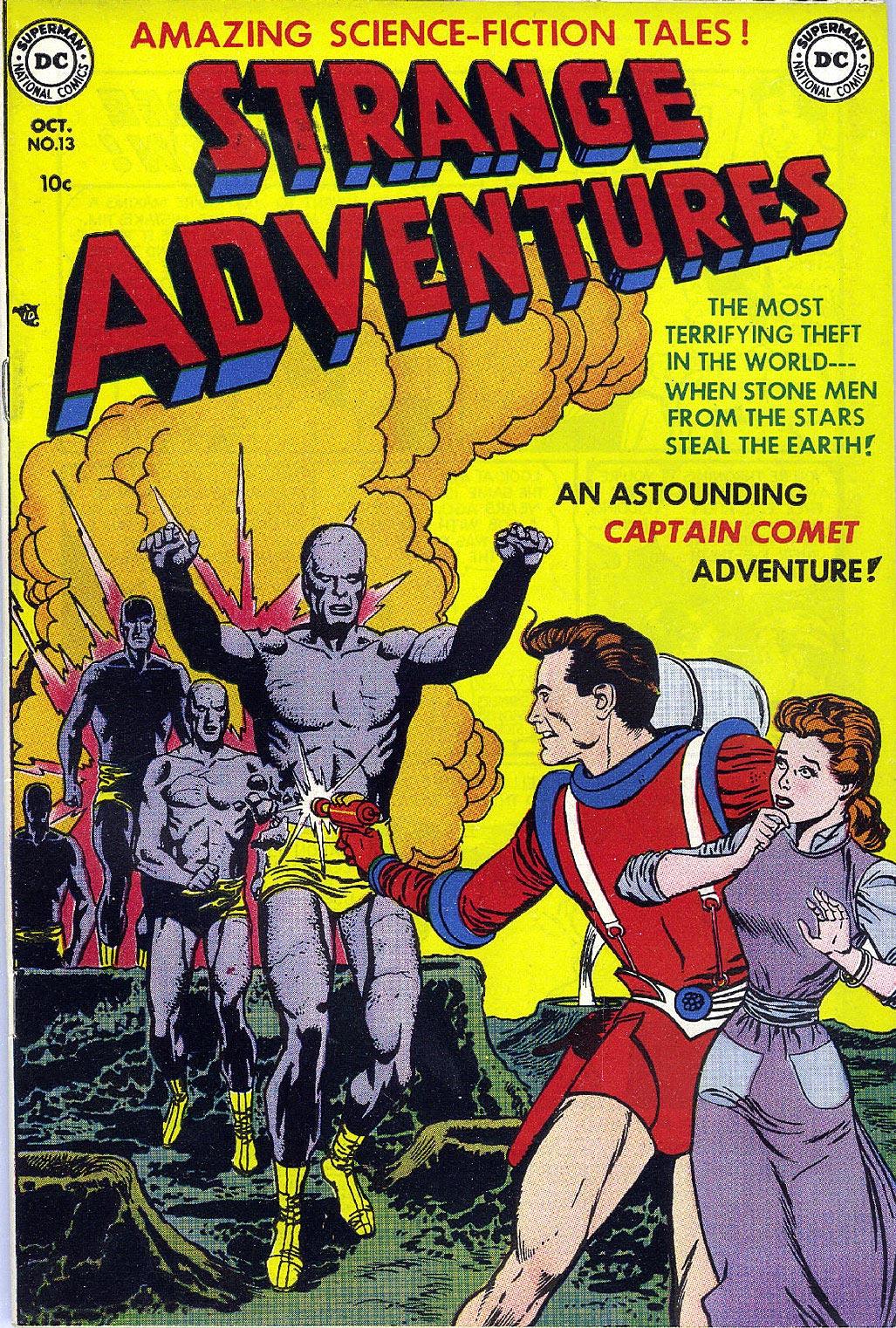 Strange Adventures (1950) issue 13 - Page 1