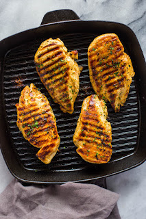 Grilled Chicken as You Like It