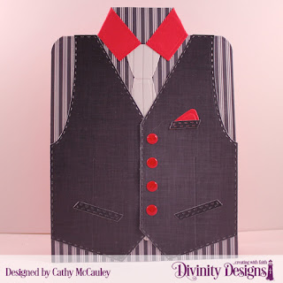 Divinity Designs Paper Collection: Menswear Material, Custom Dies: Couture Collection