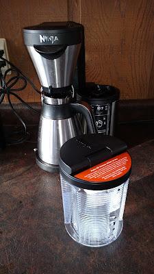 Ninja Coffeemaker Removable Water Reservoir