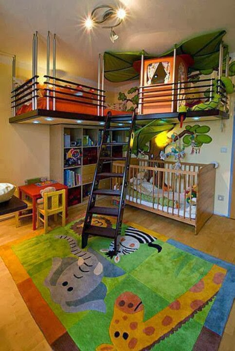 quarto para meninos.